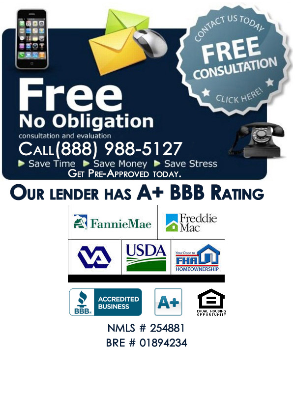 VA Home Loan Free Information Call (888) 988-5127